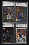 Kevin Garnett 1995-96 Lot of 4 Becket Graded Rookie Cards