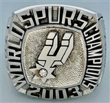 San Antonio Spurs 2003 NBA Championship Ring 14k Gold w/Diamond