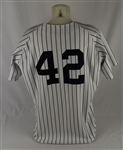 Mariano Rivera 1998 New York York Yankees Game Used Jersey w/Dave Miedema LOA
