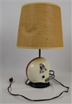 Arnie Garber 1973  New England Patriots Helmet Lamp