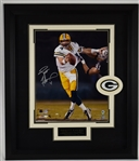 Brett Favre Autographed Green Bay Packers 16x20 Framed Photo