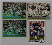 Emmitt Smith 1991 Lot of 4 Rookie Cards