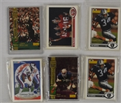 Collection of 6 Football Card Sets