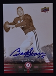 Bart Starr Autographed 2012 Upper Deck Alabama Crimson Tide Football Card