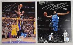 Karl Anthony-Towns Lot of 2 Autographed 8x10 Photos