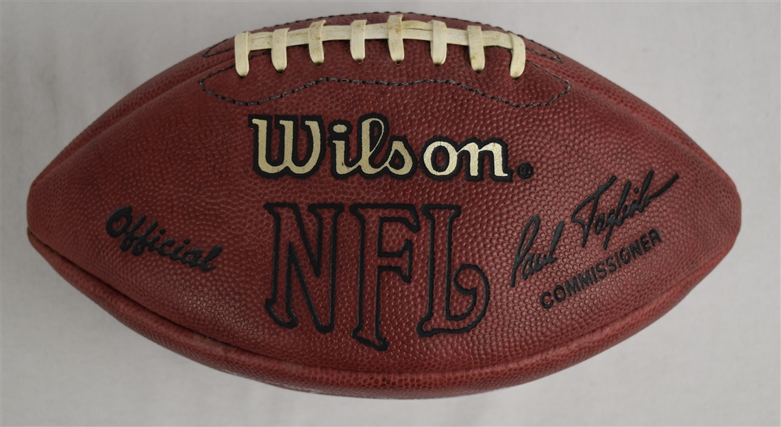 Emmitt Smith Autographed Football