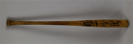 Kent Hrbek 1986-89 Minnesota Twins Game Used & Autographed Bat