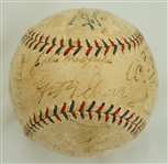 Philadelphia Athletics 1932 Team Signed Baseball w/Full JSA LOA