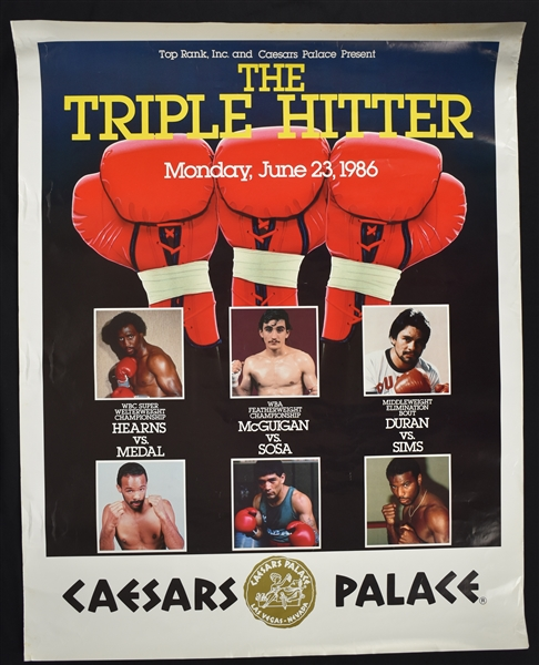 Collection of Rare Fight Posters From The Angelo Dundee Collection