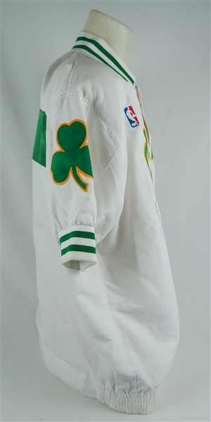Larry Bird 1991-92 Boston Celtics Professional Model Autographed Warm-Up Jacket