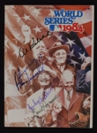 Sparky Anderson Al Kaline Alan Trammell & Ernie Harwell Autographed Detroit Tigers 1984 World Series Program