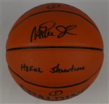 Magic Johnson Autographed & Inscribed Basketball PSA/DNA