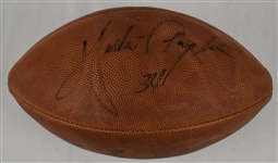 Walter Payton Autographed Football w/Puckett Family Provenance