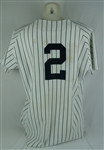 Derek Jeter 1998 New York Yankees Game Used Jersey w/Dave Miedema LOA