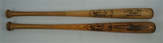 Lot of 2 Johnny Bench Store Model Bats