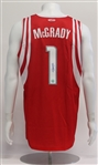 Tracy McGrady Houston Rockets Autographed Custom Basketball Jersey
