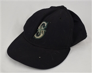 Jay Buhner Seattle Mariners Game Used & Autographed Hat