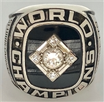Dave Rickets 1967 St. Louis Cardinals World Series Championship Ring 14k Gold w/Diamonds Made by Balfour
