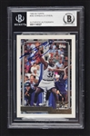 Shaquille ONeal 1992-93 Topps Autographed Rookie Card BAS