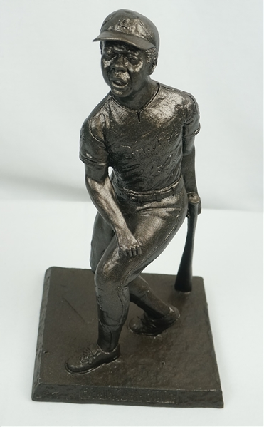 Rare 1974 Hank Aaron 715th Home Run Presentation Statue