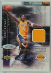 Kobe Bryant 2001 Autographed Limited Edition Game Used Jersey Card #17/150 UDA
