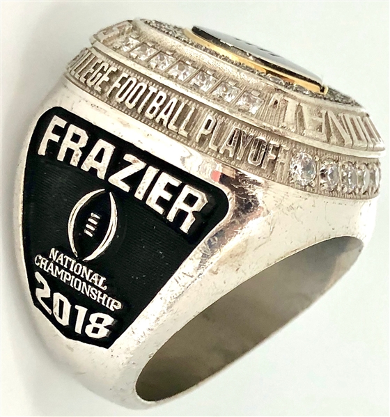 Joshua Frazier 2018 Alabama Crimson Tide College Football Playoff National Championship Ring