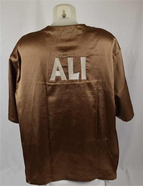 Leila Ali Championship Boxing Match Worn Corner Jacket w/Letter of Provenance