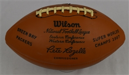 Green Bay Packers 1967 Super Bowl Championship Team Signed Football w/47 Signatures & Original Box JSA LOA