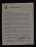 Milwaukee Braves 1957 Press Notes Signed by Wes Covington & Andy Pafko