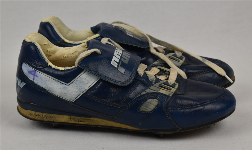 Paul Molitor Game Used Milwaukee Brewers Cleats