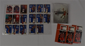 Michael Jordan Collection Dream Team Cards Tickets & DVD