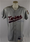 Harmon Killebrew 1967 Minnesota Twins Game Used Flannel Jersey Photomatched to the October 1st American League Pennant Deciding Game vs. Red Sox