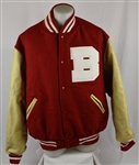 Kirby Puckett Bradley University Worn Letterman Jacket w/Puckett Family Provenance