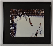 Kirby Pucketts Michael Jordan Framed Limited Edition Photo w/Puckett Family Provenance