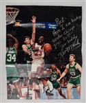 Kevin McHale Autographed & Inscribed 16x20 Photo w/Puckett Family Provenance