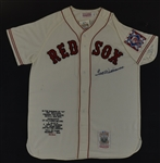 Ted Williams Autographed Limited Edition Jersey Jersey
