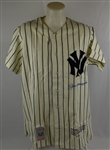 Joe DiMaggio Autographed New York Yankee Limited Edition Jersey #123/325