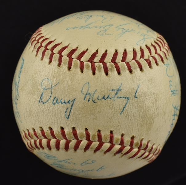 Pittsburgh Pirates 1960 World Championship Team Signed Baseball w/Roberto Clemente