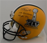 Jordy Nelson Autographed Green Bay Packers Super Bowl Helmet & Program