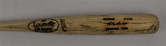 Kirby Puckett Game Issued P339 Blonde Bat w/Puckett Family Provenance