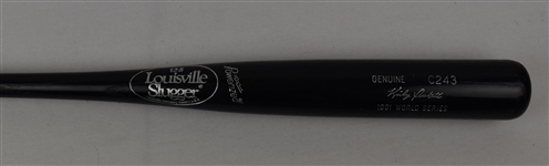 Kirby Puckett Game Issued C243 Bat w/Puckett Family Provenance