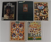 Collection of 5 All-Star Game & HOF Induction Programs w/Puckett Family Provenance