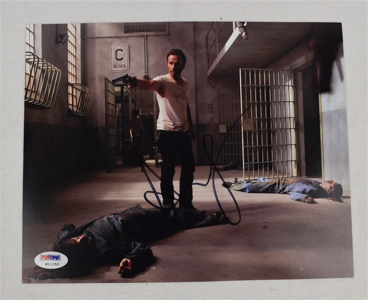 Andrew Lincoln Autographed 8x10 Photo