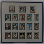Minnesota Twins 1965 Autographed Display w/Killebrew & Allison