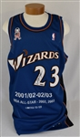 Michael Jordan Autographed Limited Edition Washington Wizards Jersey UDA