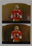 Joe Montana Lot of 2 Autographed Limited Edition Upper Deck Cards