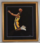 Kobe Bryant Original James Fiorentino Watercolor Painting