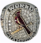 Derrick May's 2011 St. Louis Cardinals World Series Champions Ring