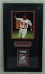 Kirby Puckett Autographed 1991 World Series Framed Display