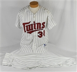 Kirby Puckett September 7th, 1996 Retirement Uniform w/Puckett Family Provenance